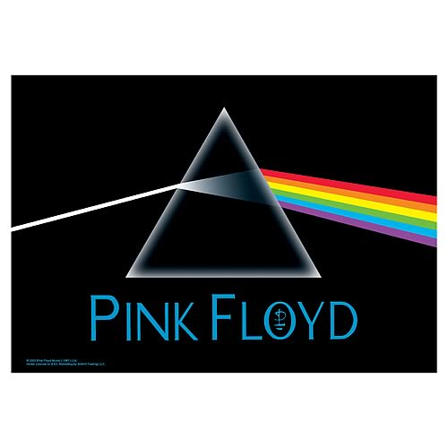 Pink Floyd Dark Side of the Moon Fabric Poster Wall Hanging