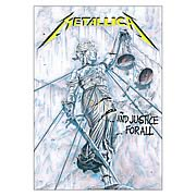 Metallica …And Justice For All Fabric Poster Wall Hanging