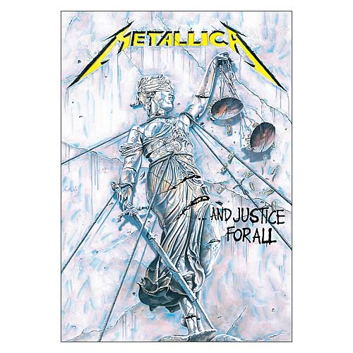 Metallica And Justice For All Tattoo Traffic Club