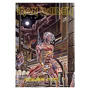 Iron Maiden Somewhere in Time Fabric Poster Wall Hanging