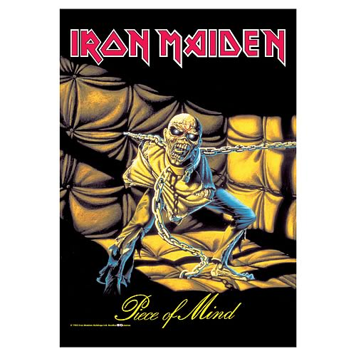 Iron Maiden Piece of Mind Fabric Poster Wall Hanging