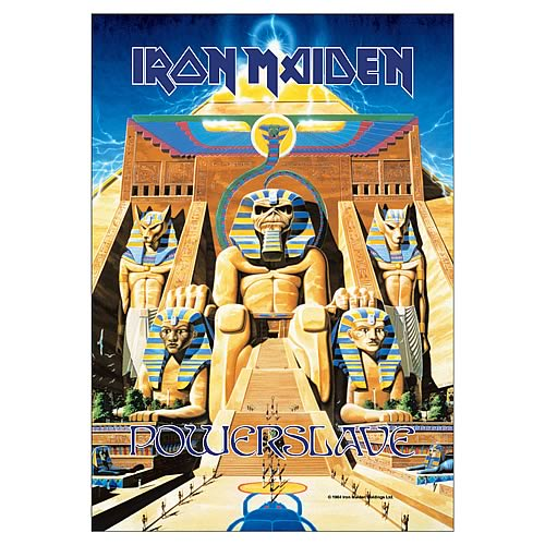 Iron Maiden Power Slave Fabric Poster Wall Hanging