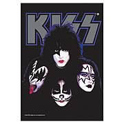 KISS Faces Fabric Poster Wall Hanging