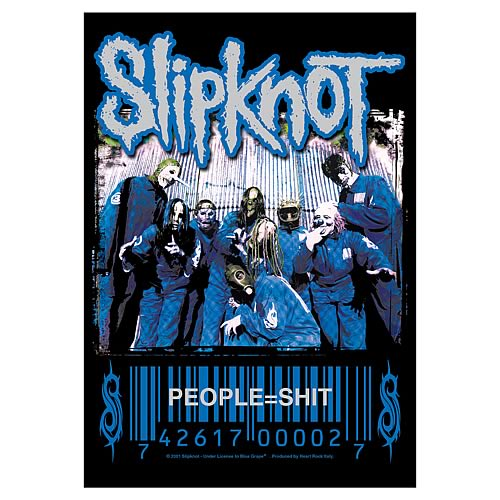 Slipknot People = S**t Fabric Poster Wall Hanging