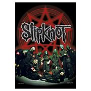 Slipknot Pentagram Fabric Poster Wall Hanging