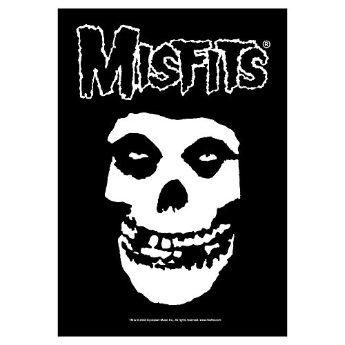 Misfits Fiend Skull Fabric Poster Wall Hanging