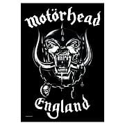 Motorhead England Fabric Poster Wall Hanging