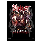 Slipknot Won't Die Fabric Poster Wall Hanging