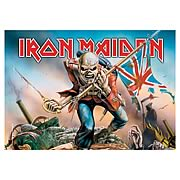 Iron Maiden Trooper Fabric Poster Wall Hanging