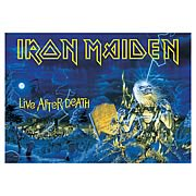 Iron Maiden Live After Death Fabric Poster Wall Hanging