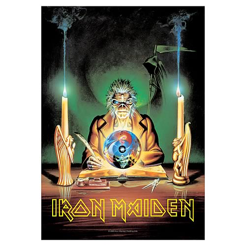 Iron Maiden 7th Son Fabric Poster Wall Hanging