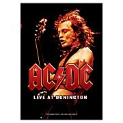 AC/DC Live at Donington Fabric Poster Wall Hanging
