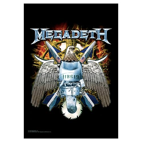Megadeth Eagle Fabric Poster Wall Hanging