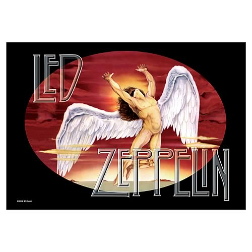 Led Zeppelin Icarus Fabric Poster Wall Hanging