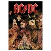 AC/DC Highway to Hell Fabric Poster Wall Hanging