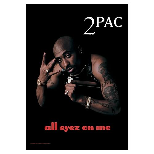 2pac All Eyez On Me Fabric Poster Wall Hanging Lpgi