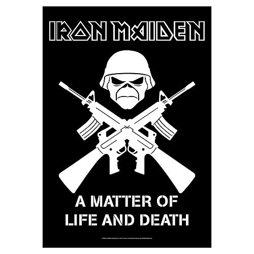 Iron Maiden A Matter of Life and Death #1 Fabric Poster