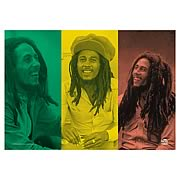 Bob Marley Rasta Collage Fabric Poster Wall Hanging
