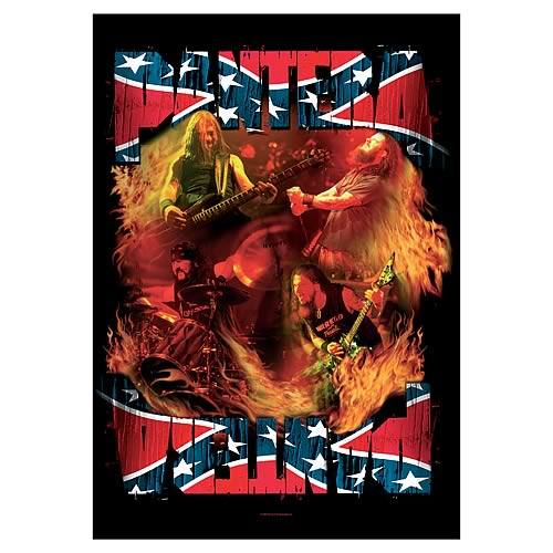 Pantera Band South Fabric Poster Wall Hanging