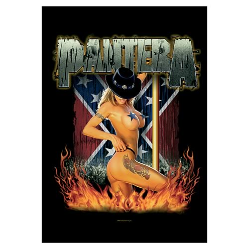 Pantera Girl South Fabric Poster Wall Hanging
