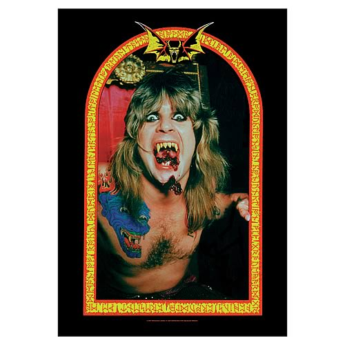 Ozzy Osbourne Vampire Fabric Poster Wall Hanging