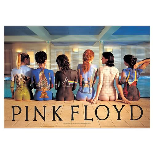 Pink Floyd Back Catalog Fabric Poster Wall Hanging