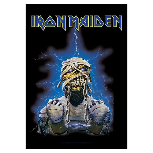 Iron Maiden Chains Fabric Poster Wall Hanging