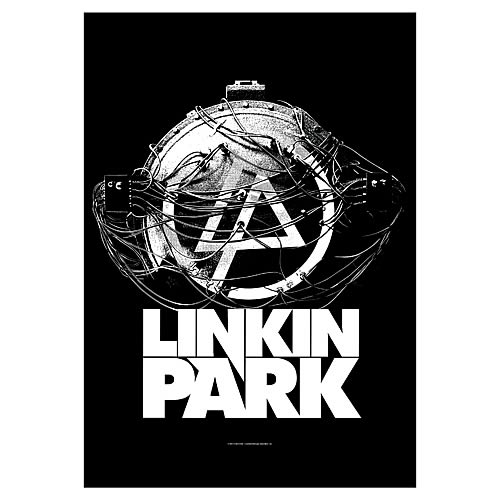 Linkin Park Atomic Age Fabric Poster Wall Hanging