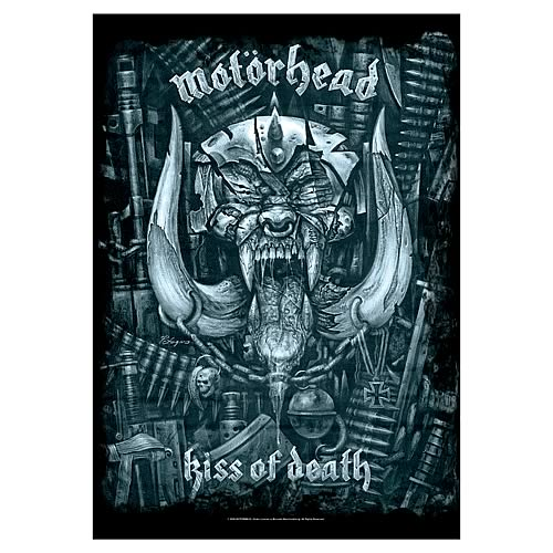 Motorhead Kiss of Death Fabric Poster Wall Hanging