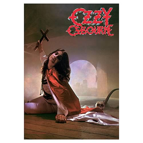 Ozzy Osbourne Cross Fabric Poster Wall Hanging