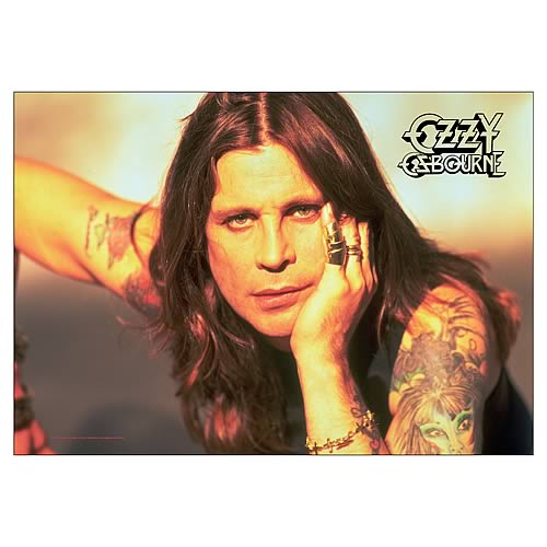 Ozzy Osbourne Portrait Fabric Poster Wall Hanging