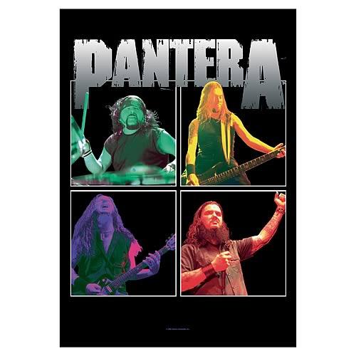 Pantera Band Frames Fabric Poster Wall Hanging