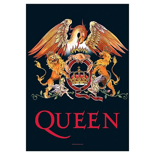 Queen Crown Fabric Poster Wall Hanging