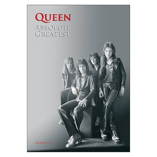 Queen Band Shot Fabric Poster Wall Hanging