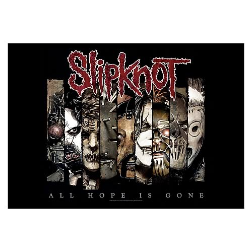 Slipknot All Hope is Gone Fabric Poster Wall Hanging