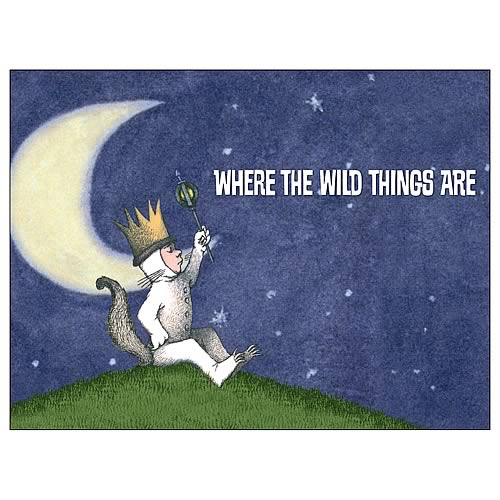 Where The Wild Things Are King Max Fabric Poster