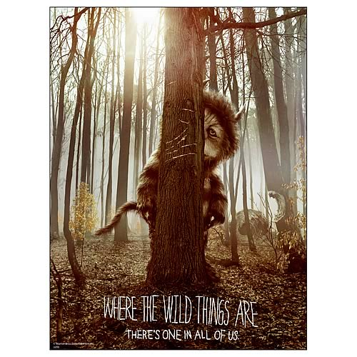 Where The Wild Things Are Movie Poster Fabric Poster