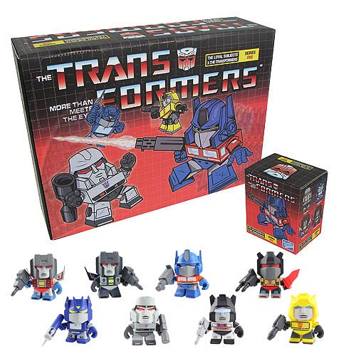 Transformers 3-Inch Random Figure Series 1 Mini-Figure Case