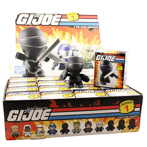 G.I. Joe 3-Inch Random Figure Series 1 Mini-Figure Case