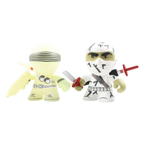 G.I. Snake Eyes and Storm Shadow 3-Inch Mini-Figure 2-Pack