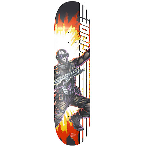 G.I. Joe Snake Eyes Skateboard Deck