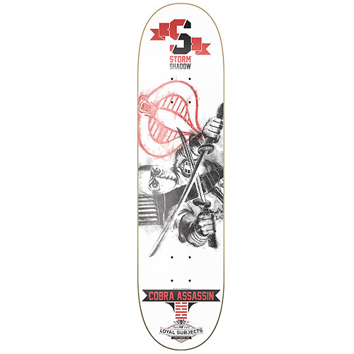 G.I. Joe Storm Shadow Cobra Assassin Skateboard Deck