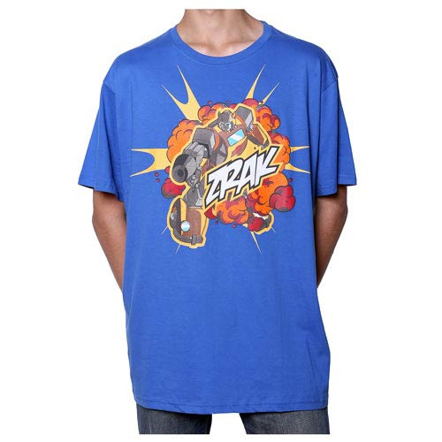Transformers Bumblebee Zrak! Blue T-Shirt