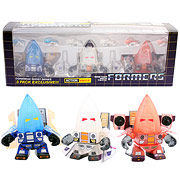 Transformers Conehead Ghost Action Vinyl Figure 3-Pack