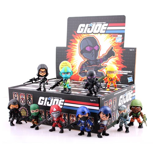 G.I. Joe 3-Inch Series 2 Mini-Figure Display Box