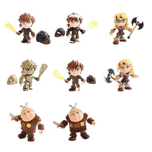 HTTYD Heroes and Humans Wave 1 Random Action Vinyl Figure