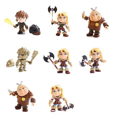 HTTYD Heroes and Humans Wave 2 Random Action Vinyl Figure
