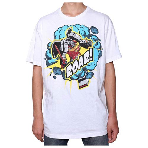 Transformers Grimlock Roar! White T-Shirt