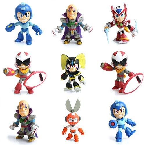 Mega Man Action Vinyls Wave 1 Random 4-Pack