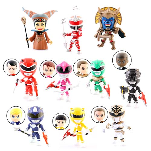 Mighty Morphin Power Rangers 3-Inch Random Figure Case